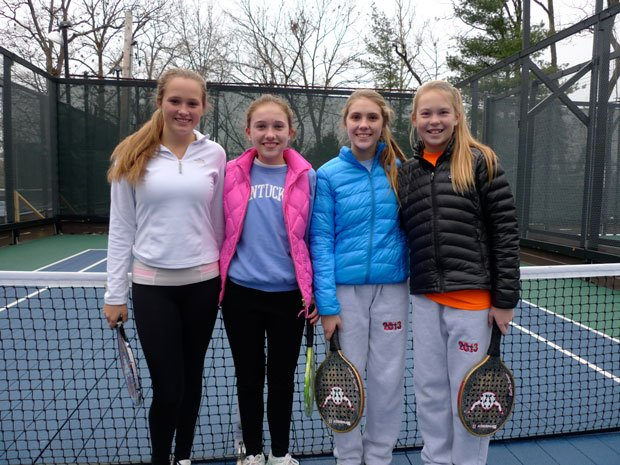 Girls 15 and Under Finalists