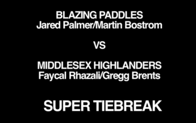 Blazing Paddles vs. Middlesex Highlanders Bonus Coverage