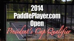 2014 PaddlePlayer.com Open Part 1 (Ladies' Draw)