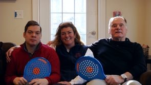 Pete Gogolak on The David Gogolak Memorial Mixed Paddle Tournament