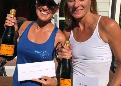 Women's Open Champs Florentina Hanisch & Annica van Starrenburg